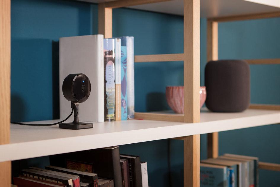 Eve Cam é a primeira câmera de segurança interna já feita Apple Vídeo Seguro HomeKit