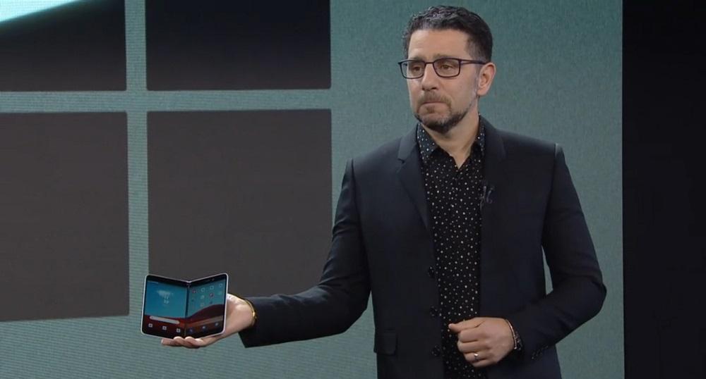Microsoft Surface Duo Tính năng rò rỉ đáng ngờ; Camera đơn 11MP có thể 1