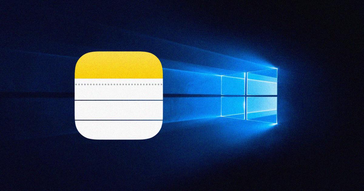 Atas 3 Cara Mengakses Nota iPhone pada Windows
