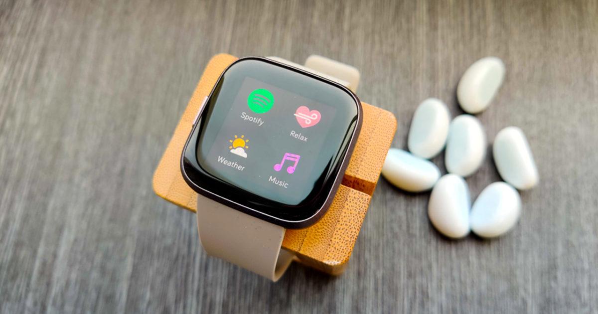 Fitbit ngược lại 2Thêm ứng dụng và âm nhạc vào 3