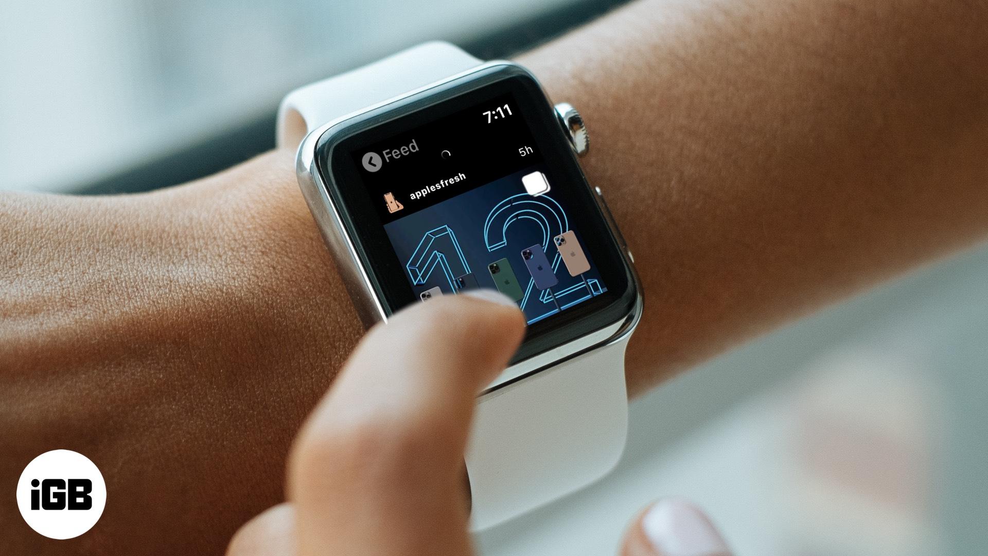 Bagaimana untuk mendapatkan Instagram pada mana-mana Apple Watch