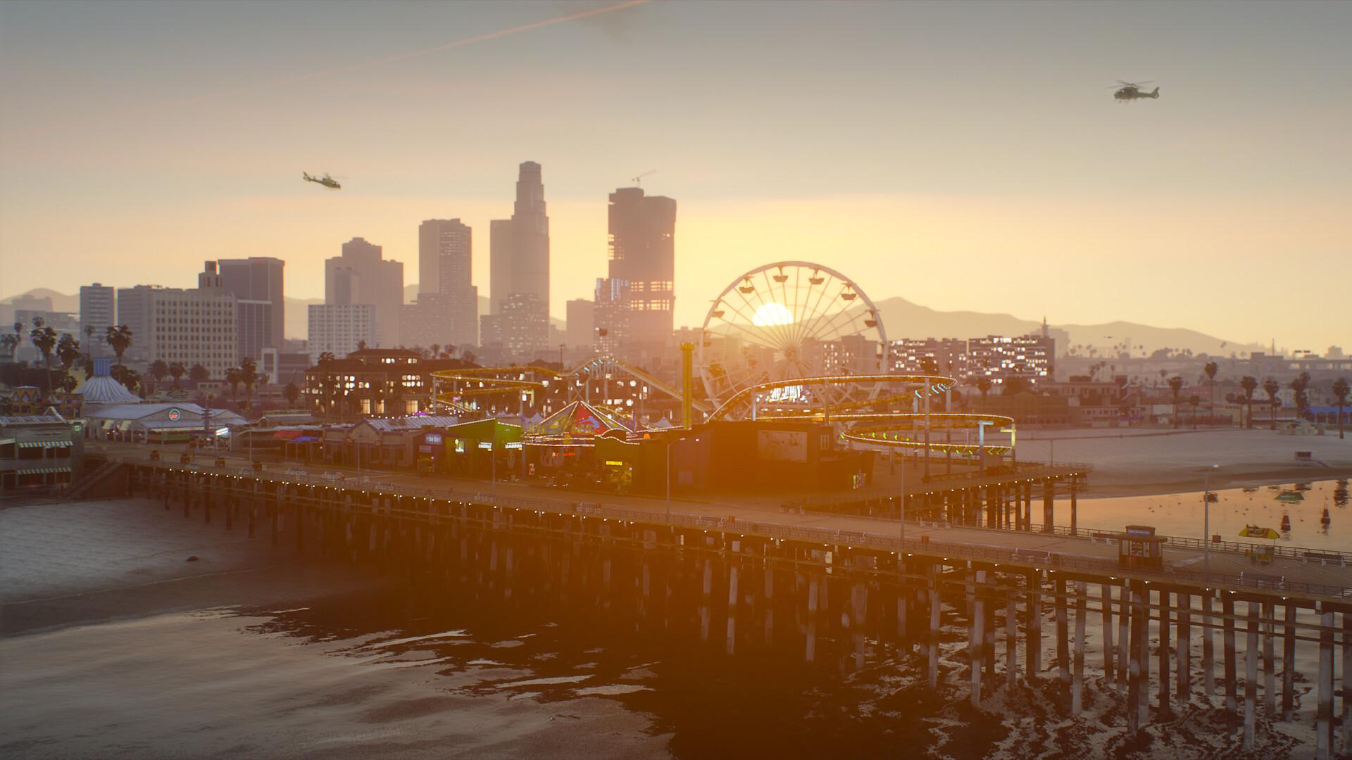 Grand Theft Auto V - Chế độ mới «NaturalVision Evolve» hiện đang được truy cập sớm; Ảnh chụp màn hình và Rơ moóc 3