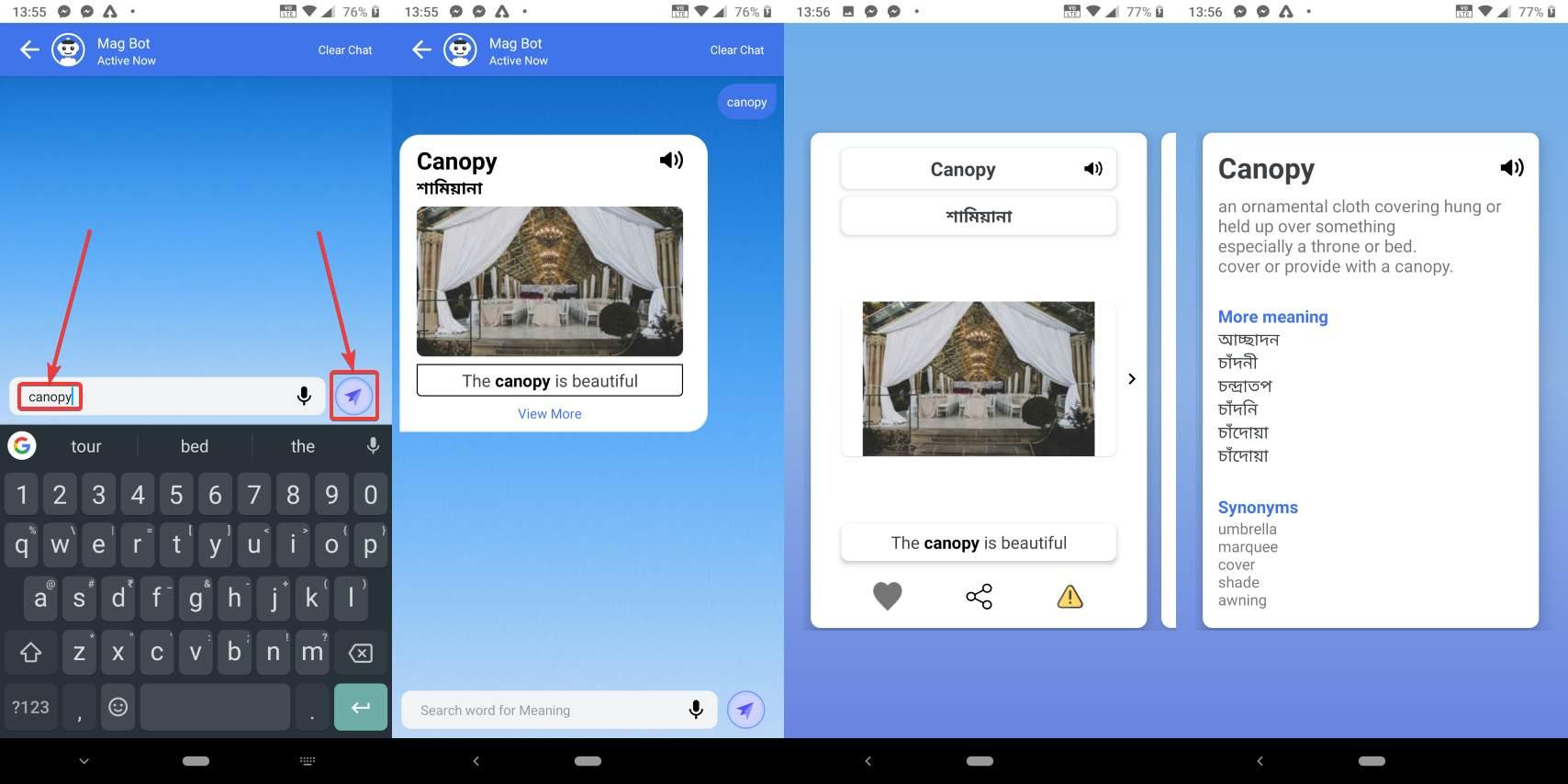 Aplikasi MagTapp – Tingkatkan perbendaharaan kata anda di Android semasa melayari laman web