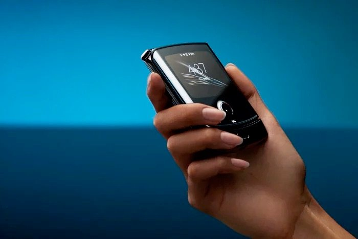 Android 10 đã cập bến Motorola Razr 3