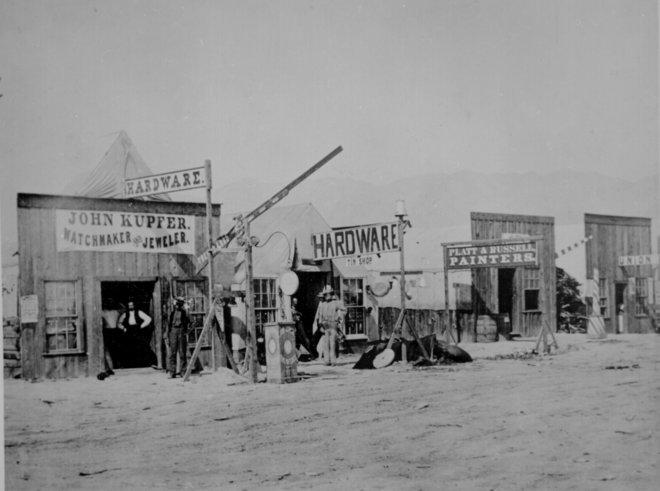 Неверное время открытия: Раннее фото со Старого Запада 13