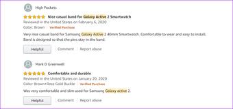 Samsung ist das Beste Galaxy Active 2 Joyozy2 Lederband2
