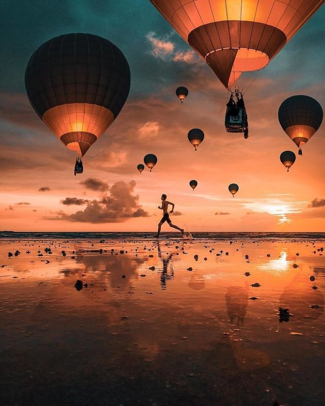 Masuk ke dunia lain dengan pengeditan ảnh seperti mimpi yang luar biasa ini 12