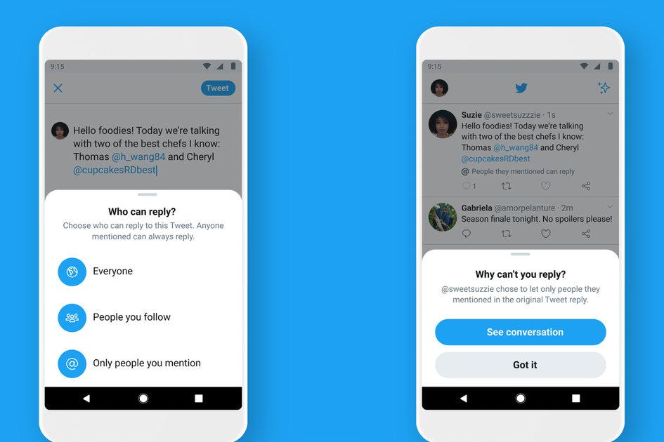 Twitter melancarkan pilihan balasan yang telah lama ditunggu – selamat tinggal untuk membalas lelaki