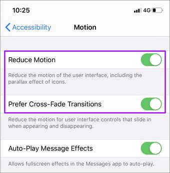 Отключить доступность Iphone 6