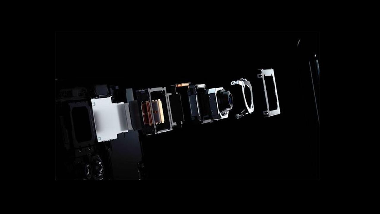 Công nghệ cảm biến camera gimbal Vivo Hộp quay số X50 Pro 1
