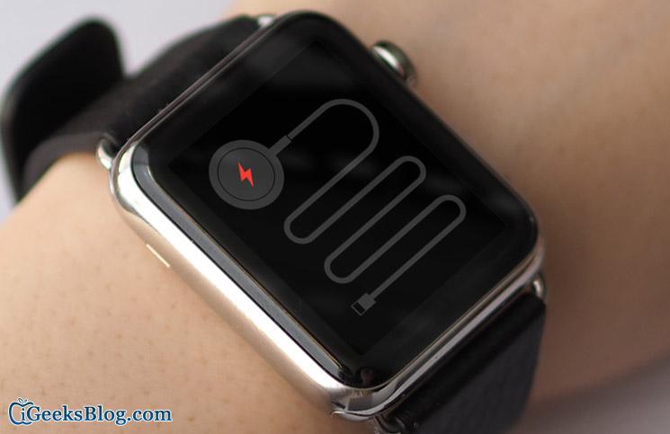 Apple Watch Không sạc: Một số giải pháp để khắc phục sự cố 3