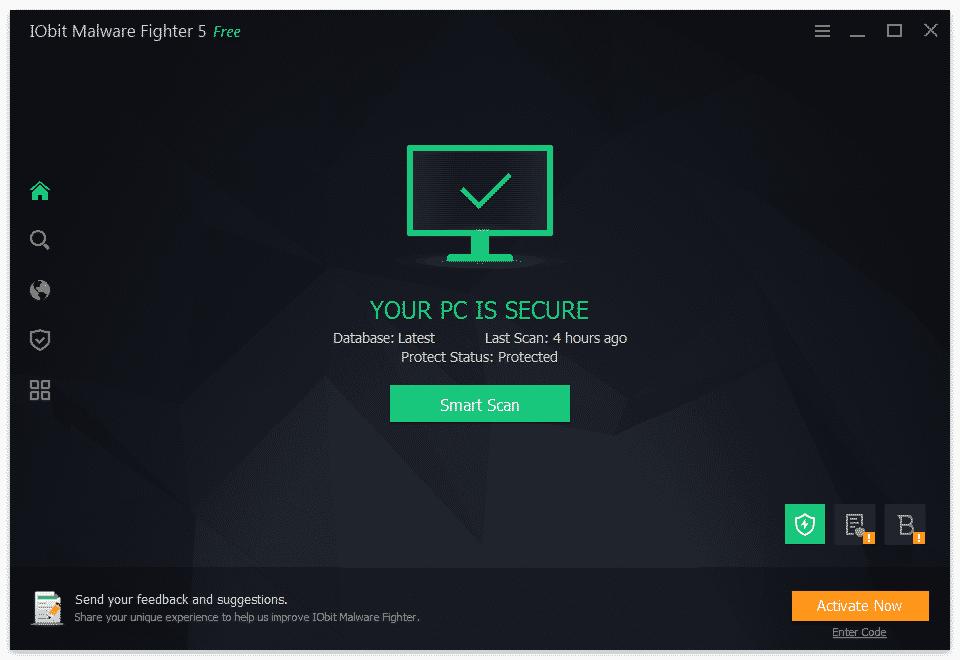 Phần mềm chiến đấu phần mềm độc hại IObit