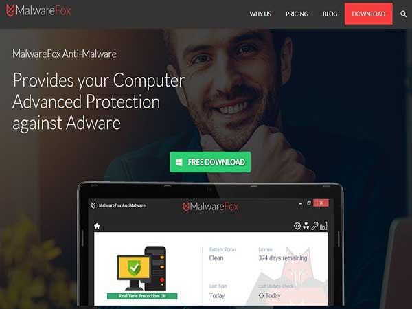 Phần mềm chống phần mềm độc hại MalwareFox