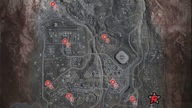 kích hoạt bản đồ khu vực chiến tranh cho khu vực chiến tranh