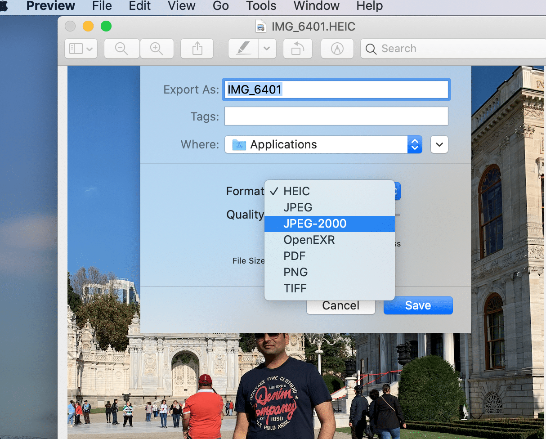 изменить формат файла