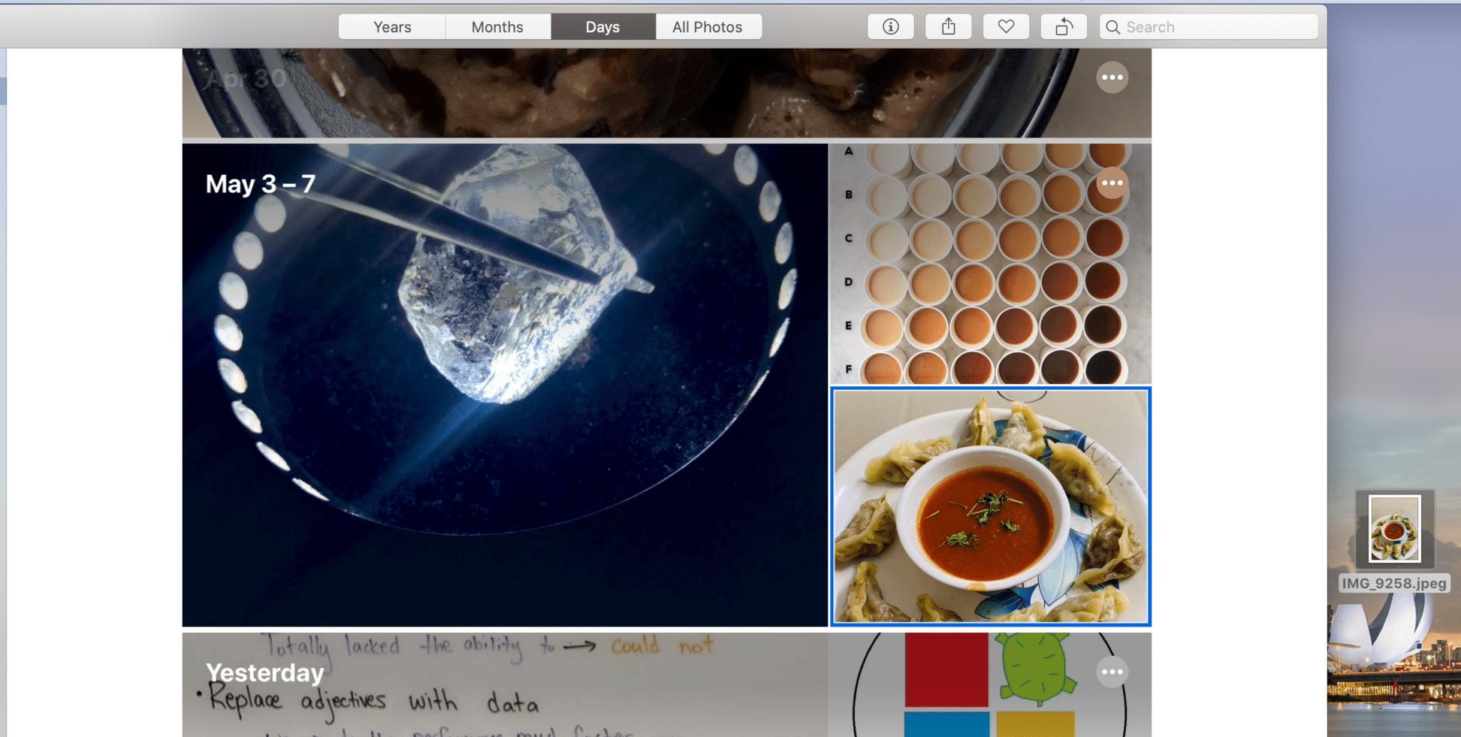 перетаскивать изображения рабочего стола