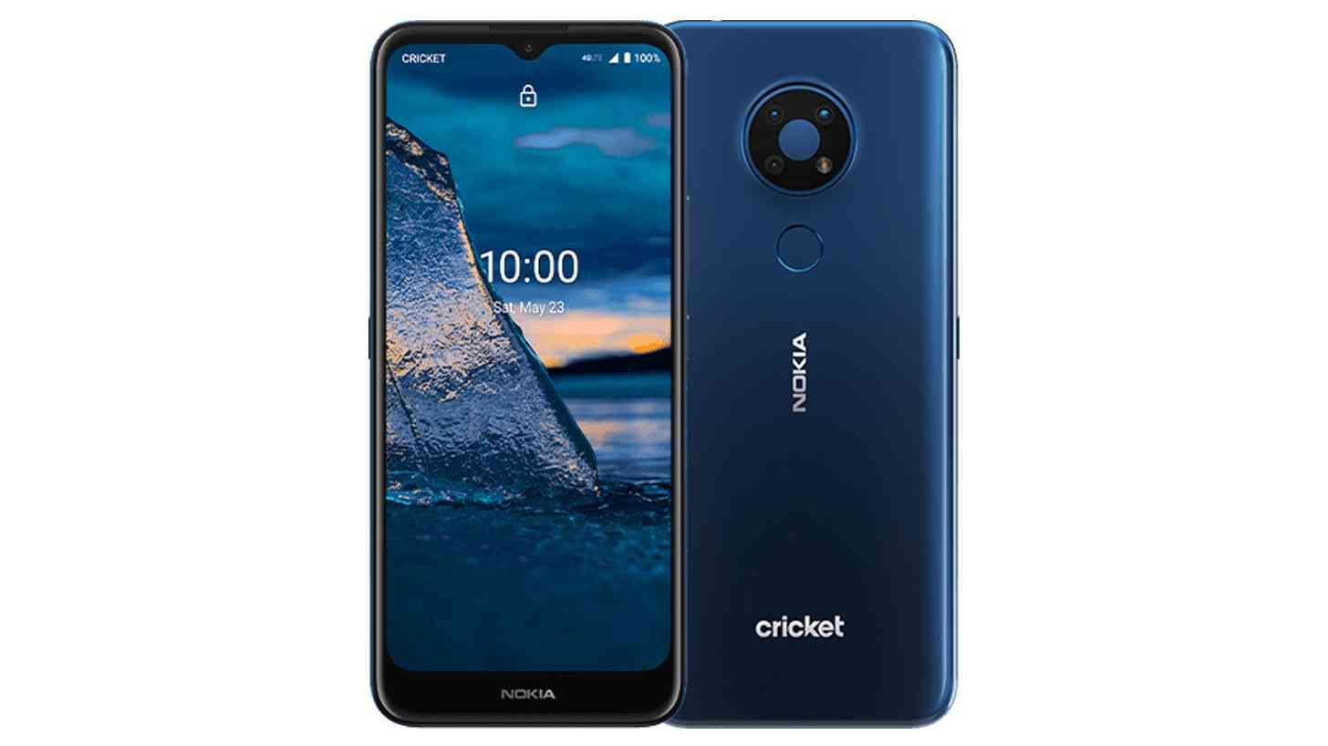 Nokia C5 Endi Cricket Tanpa Wayar