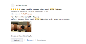 Samsung ist das Beste Galaxy Active 2 Lederseil TRU Mi RR