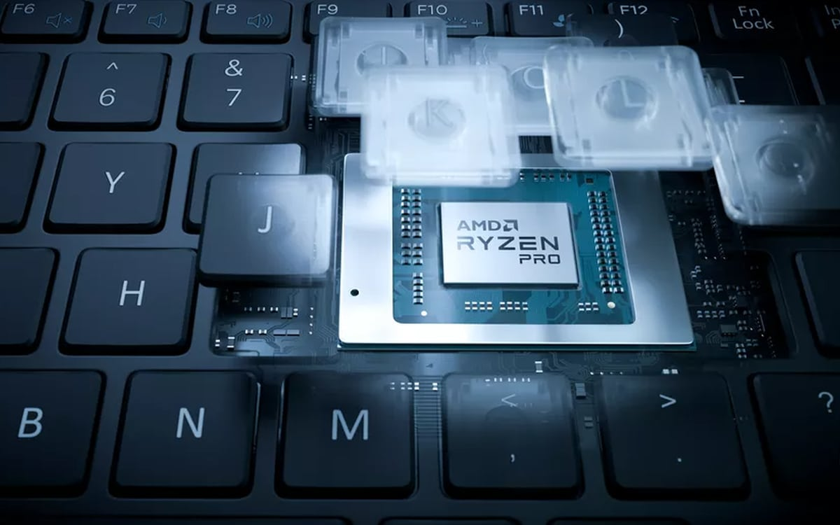 AMD, 4.1 Ryzen Pro 4000 lên đến GHz và 15 W 8 trình bày bộ xử lý tim 3