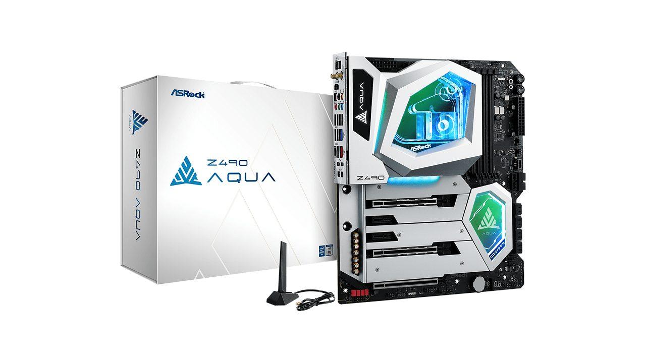 ASRock Z490 AQUA, papan induk jenama teratas untuk Intel