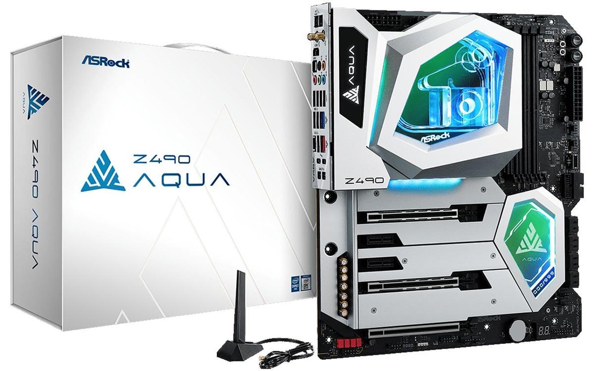 ASRock melancarkan Aqua Z490, motherboard kelas atas dengan skrin OLED pada harga $ 1100