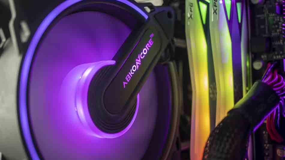 Abkoncore Cool Storm T404 Bão đôi CPU làm mát Revie 1