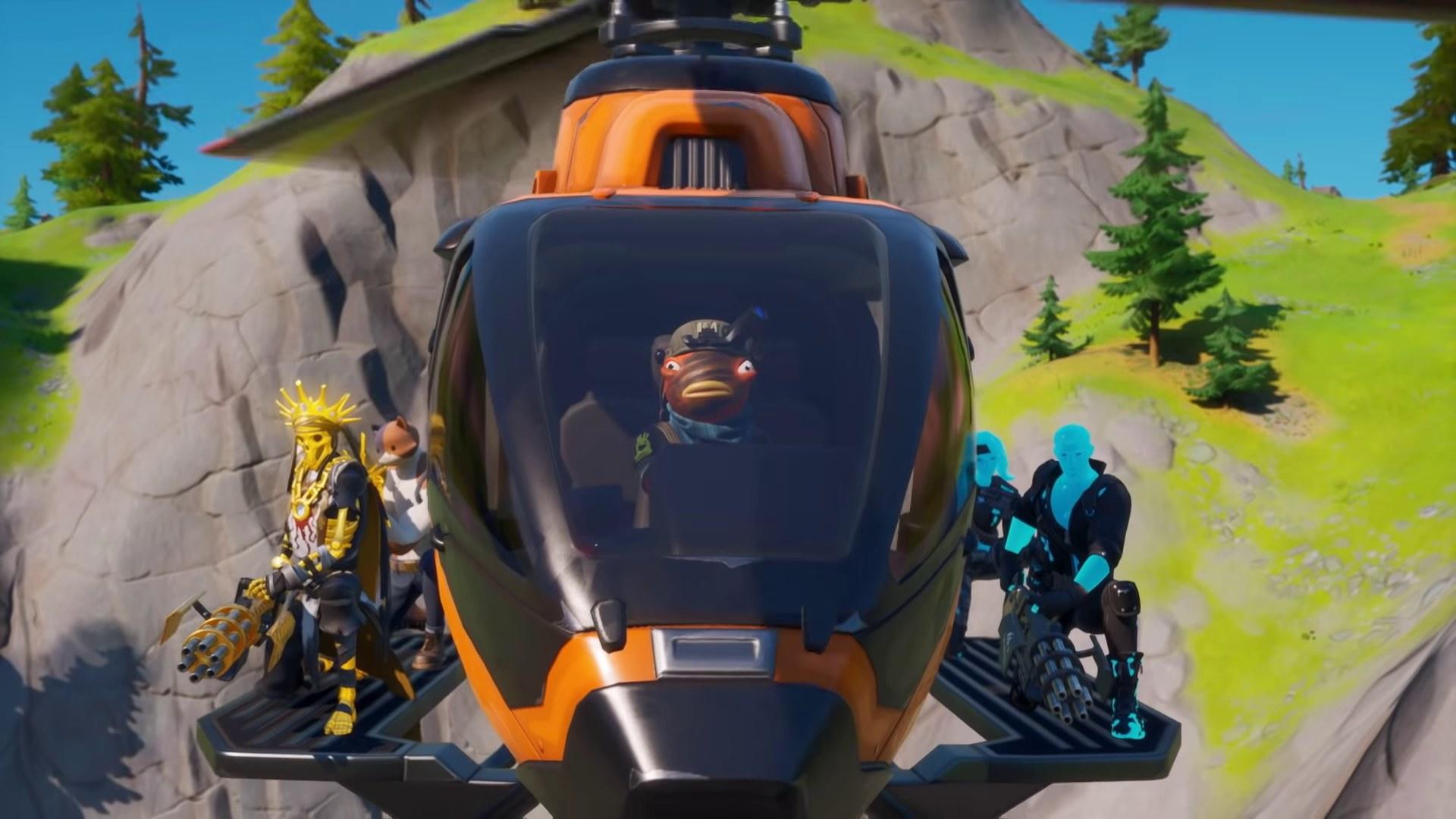 Bạn có thể đi máy bay trực thăng Fortnite hiện nay 1