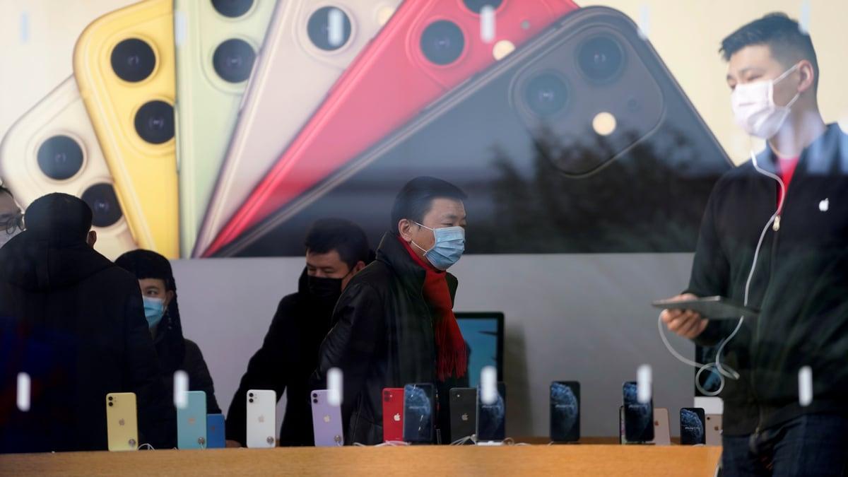 Apple Membuka Semula Beberapa Kedai di Beijing Hari Ini, Laman Syarikat Berkata