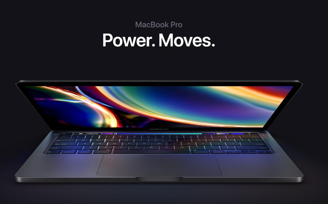 Apple 13  Actualizar MacBook Pro de pulgadas con teclado magnético, almacenamiento base más grande e Intel Core 10. Chip