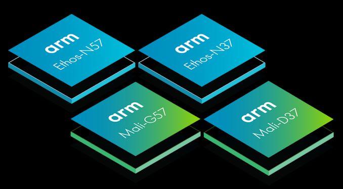Arm anuncia novo Ethos-N57 e N37 NPU, Mali-G57 Valhall GPU e Mali-D37 DPU