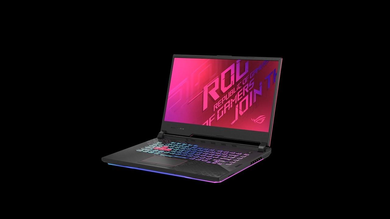 Asus ROG Strix G17 G712LW, komputer riba permainan spektakuler