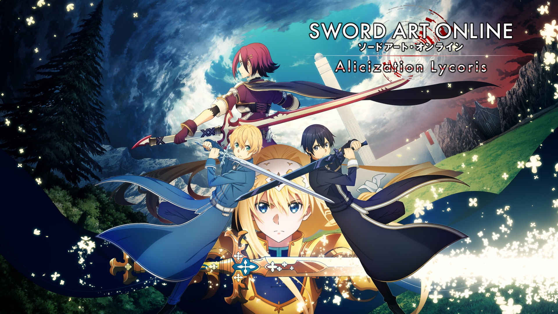 Eugeo stars in the new Sword Art Online game: Alicization Lycoris 1
