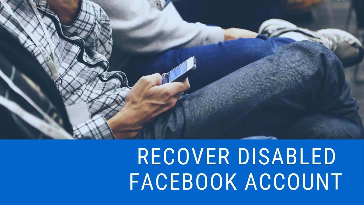 Làm thế nào để cứu người khuyết tật Facebook Một tài khoản? 1