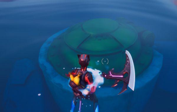 Fortnite: Bơi trong cửa văn phòng 2