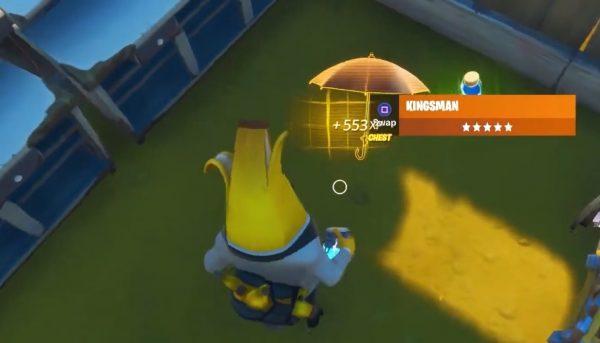Fortnite: Mùa 2 - Tôi có thể tìm chiếc ô Kingsman ở đâu? 2