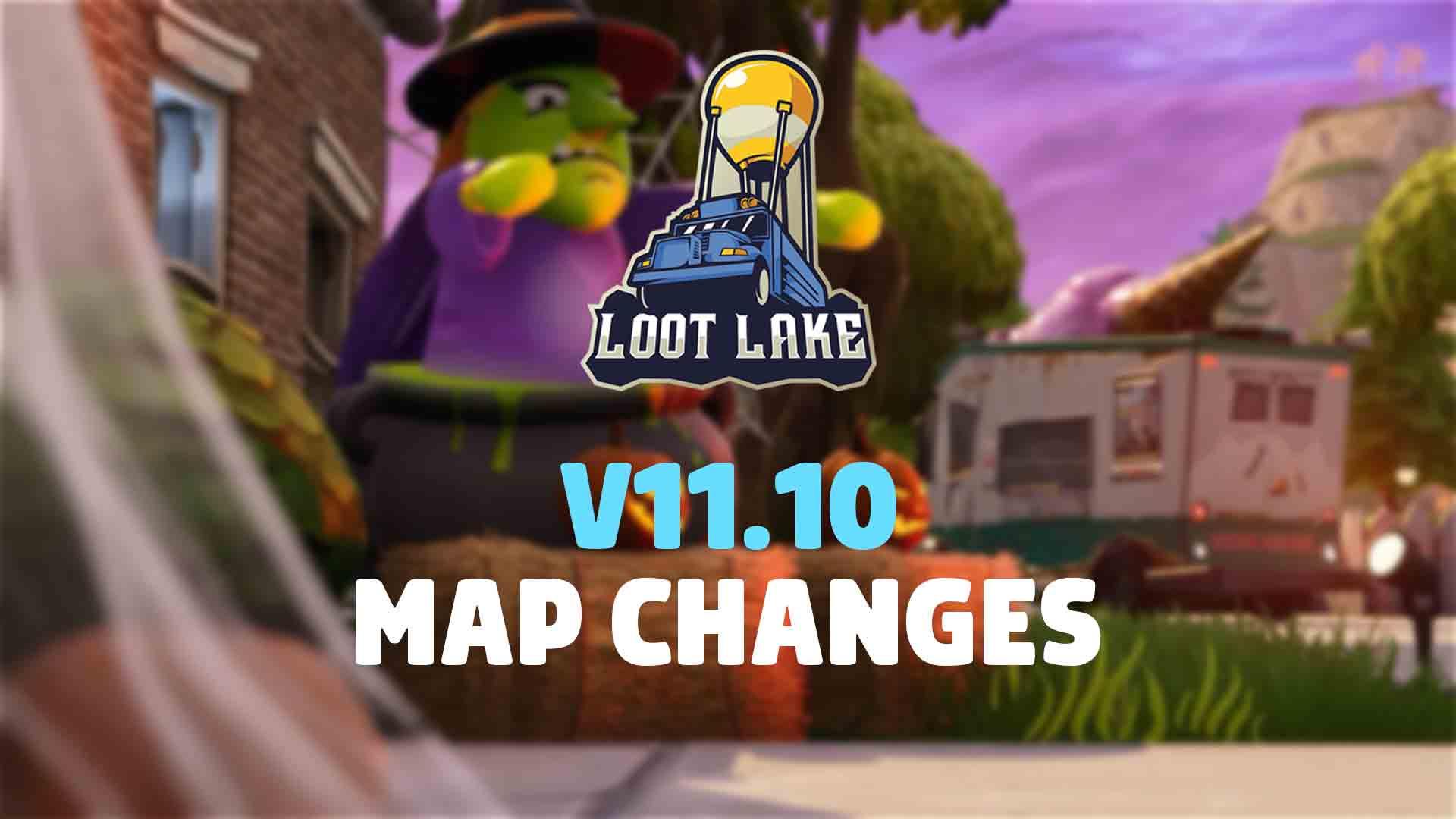 Fortnite Thay đổi bản đồ V11.10 | Này Boo và hơn thế nữa 2