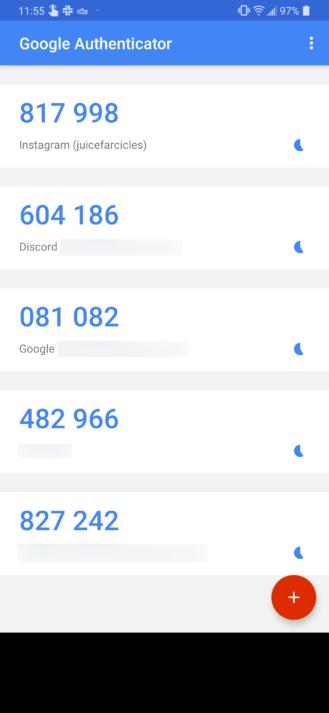 Google Authenticator bir neçə ildən sonra ilk yeniləməni alır, nəticədə cihazları arasında hesablar ötürməyə imkan verir (APK yükləyin) 1