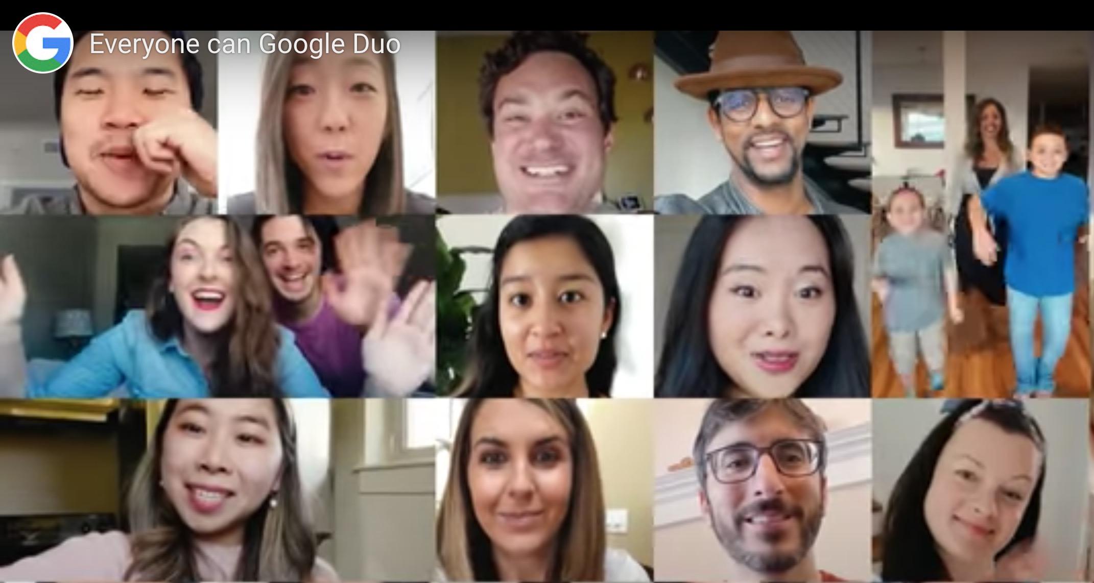 Google Duo cho phép bạn thực hiện các cuộc gọi nhóm tới Chrome, tối đa 32 1
