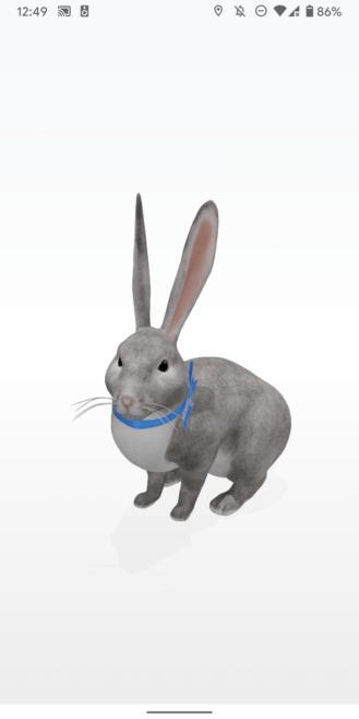 """Google 3D Hayvanlar: 30'dan fazla AR canlısı, uyumlu telefon listesi 4 """"width ="""" 329 """"height ="""" 658 """"loading ="""" tembel"""