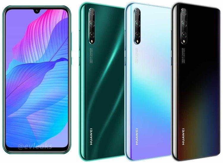 Huawei P Smart S cung cấp thiết kế triển lãm và các biến thể màu sắc 2