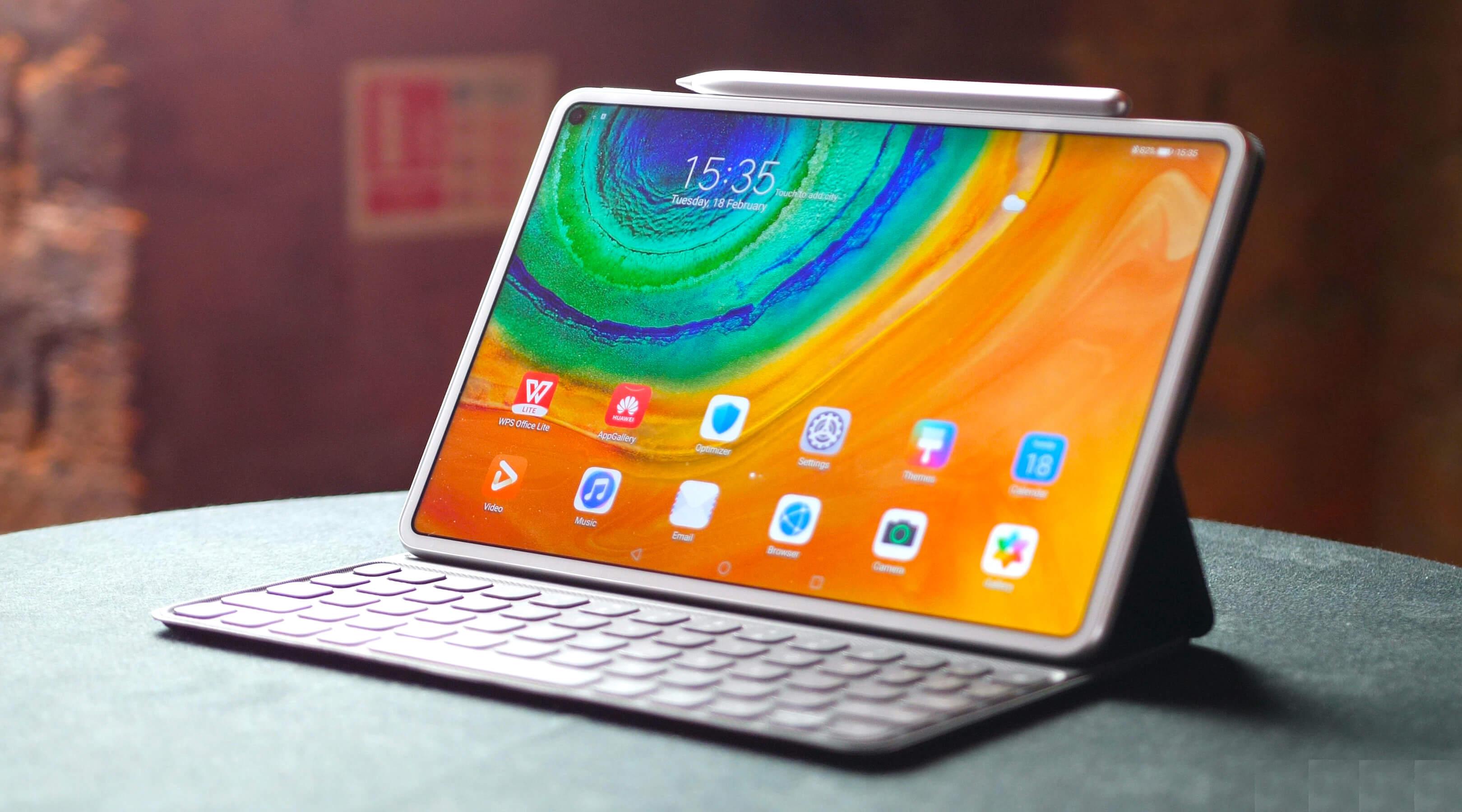 Huawei melancarkan tablet unggulan MatePad Pro 5G