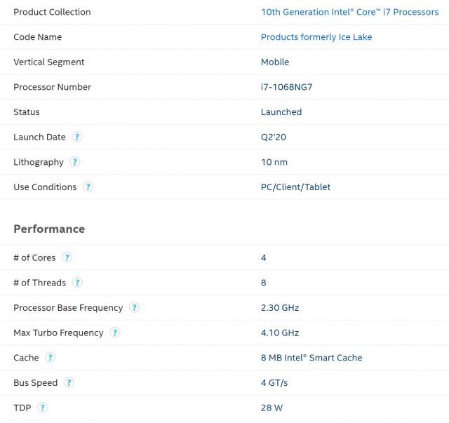 "Intel'in ən yaxşı 28W Ice Lake CPU Apple 2  ""width ="" 640 ""height ="" 603"