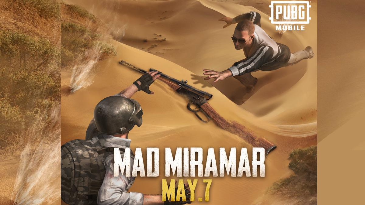 Cập nhật PUBG Mobile Mad Mirabar 7 Được phát hành vào tháng 5 3