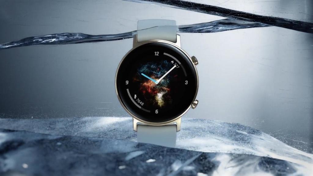 Đồng hồ Huawei 2 dưới nước