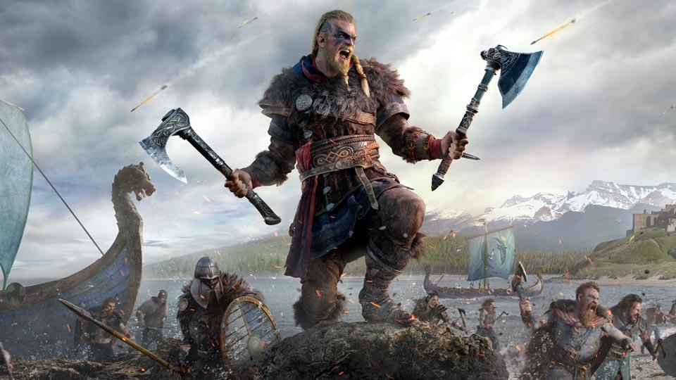 Papur Wal Valhalla Credo Assassin Gorau yn 4K a HD Llawn