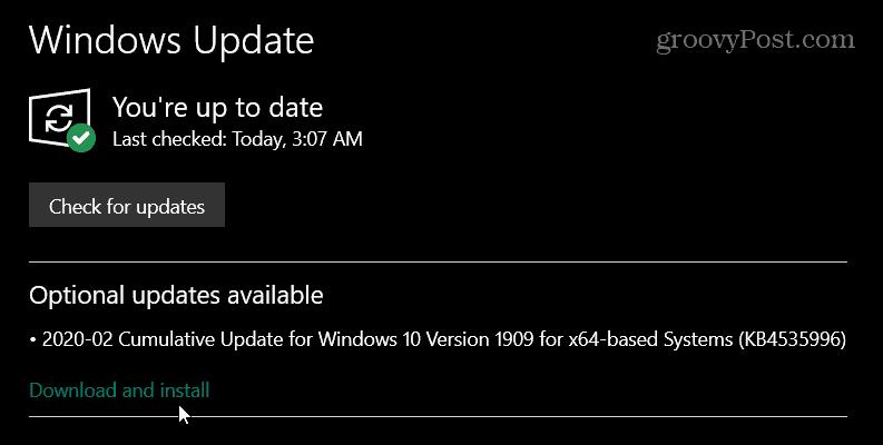 Microsoft, Salı için Mart Yaması Güncelleştirmesini Salı günü başlattı Windows 10 1