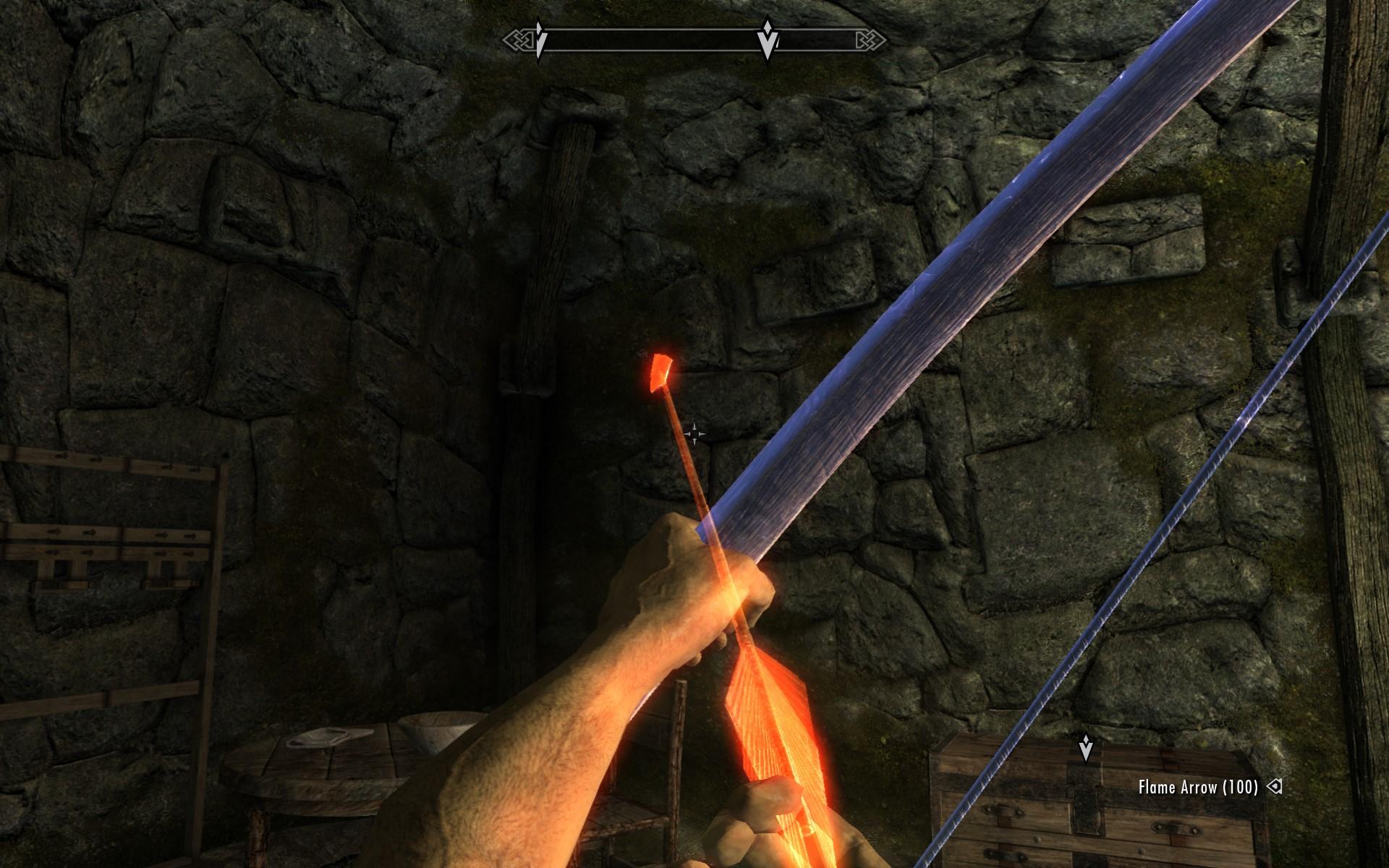 Bản mod Skyrim này cho phép bạn trở thành một cung thủ nhỏ bắn ra một câu thần chú từ cây cung 1