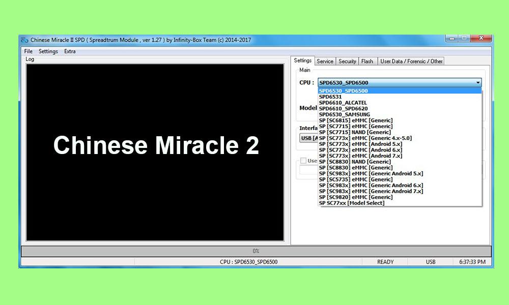 Với Kích hoạt trình cài đặt ngoại tuyến (MTK / SPD) 2 Tải về phép lạ Trung Quốc 2