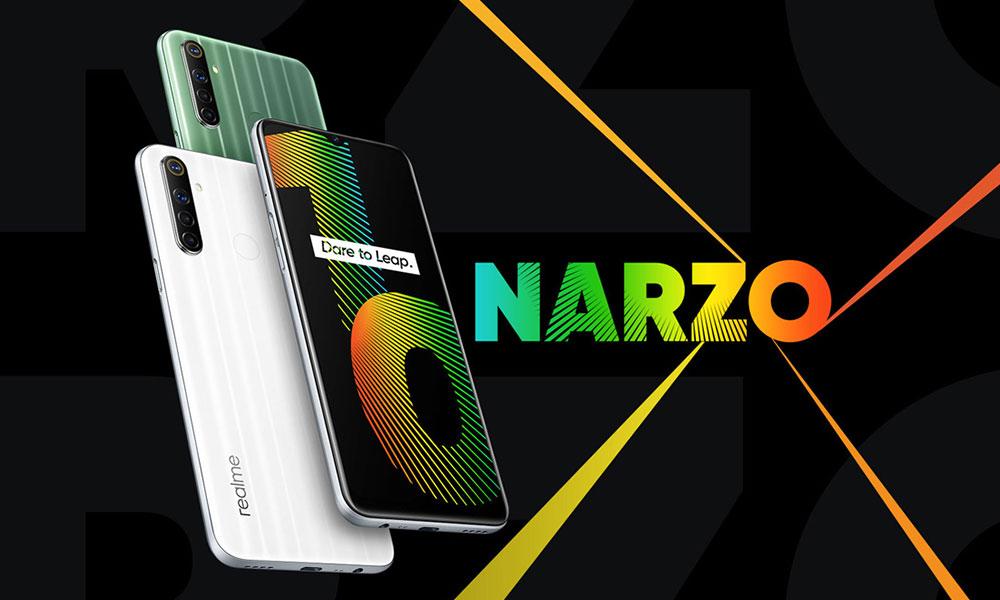 Muat turun Wallpaper Saham Realme Narzo 10 & 10A