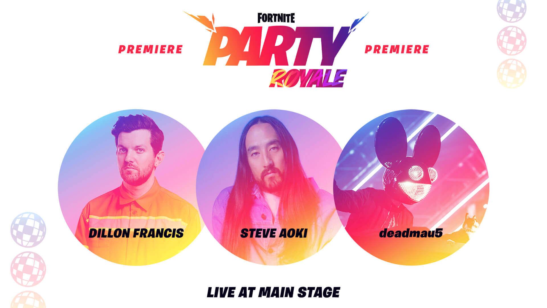 Pesta Tayangan Perdana Royale pada hari Jumaat bersamaan Dillon Francis, Steve Aoki dan Deadmau5